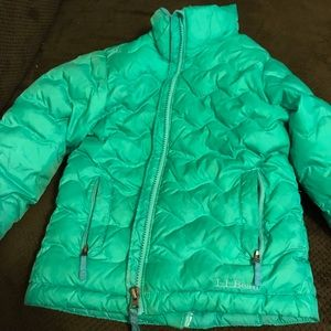 Girl ll bean coat size 5-6